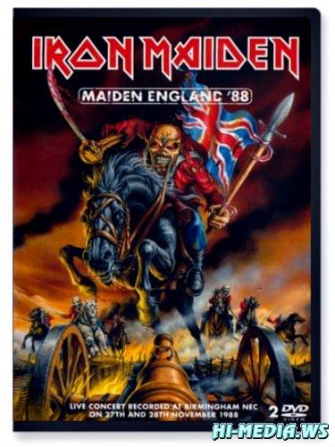 Iron Maiden - Maiden England '88 (2013) DVDRip