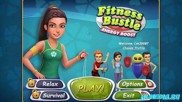 Fitness Bustle: Energy Boost (2013) ENG
