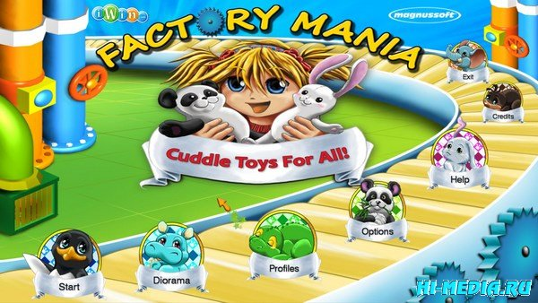 Factory Mania. Cuddle Toys for All (2013) ENG