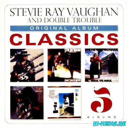 Stevie Ray Vaughan & Double Trouble - Original Album Classics 5CD Box Set (2013)