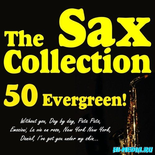 The Sax Collection 50 Evergreen! (2013)