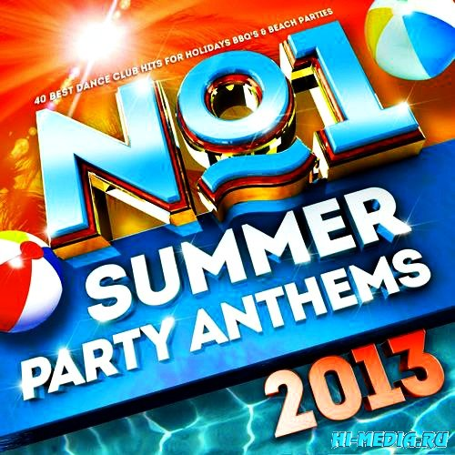 No.1 Party People - No.1 Summer Party Anthems (2013)