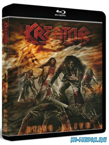 Kreator - Dying Alive (2013) BDRip 1080p