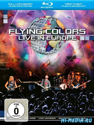Flying Colors: Live In Europe (2013) BDRip 1080p
