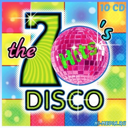 70' Disco Hits (10CD) (2013)
