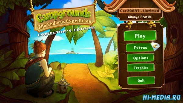 Campgrounds 2: The Endorus Expedition Collector's Edition (2013) ENG