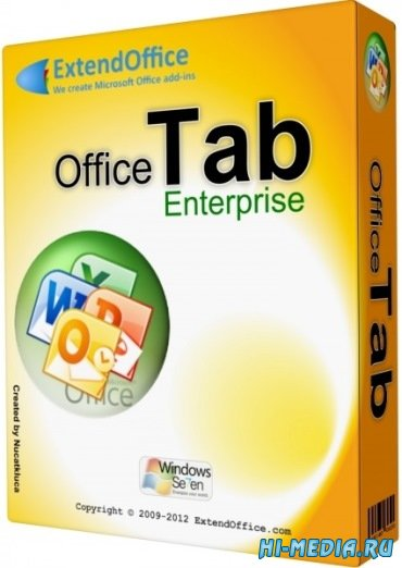 Office Tab Enterprise Edition 9.20