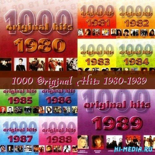 1000 Original Hits 1980-1989 (2001)
