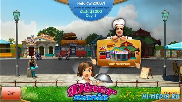 Diner Mania (2014) ENG