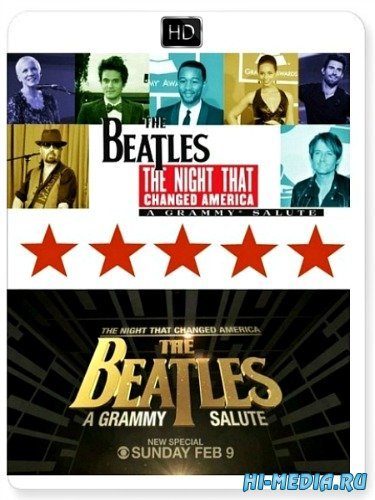 The Night That Changed America: A GRAMMY Salute To The Beatles (2014) HDTV 1080i