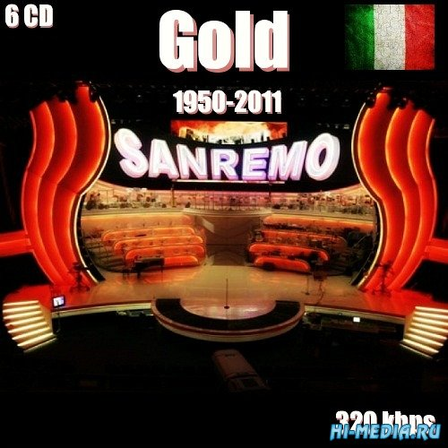 Sanremo Gold 1950-2011 (6CD) (2012)