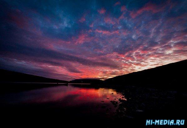 """""""Висячее"""" озеро Сорвагсватн"""