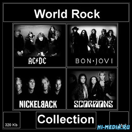 AC/DC, Bon Jovi, Nickelback, Scorpions: World Rock Collection (2014)