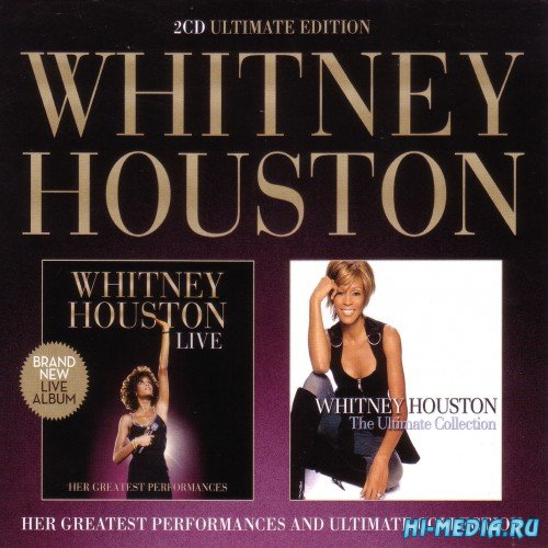 Whitney Houston - Live And Ultimate Collection (2CD) (2014)