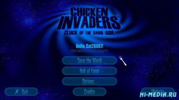 Chicken Invaders 5: Cluck of the Dark Side (2014) ENG
