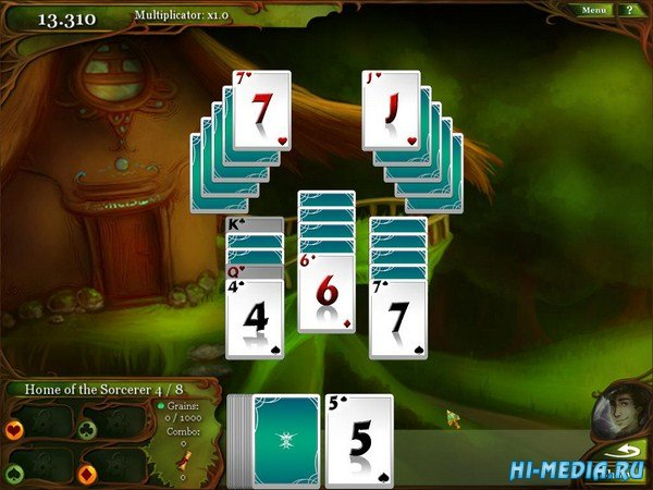 Magic Cards Solitaire (2014) ENG