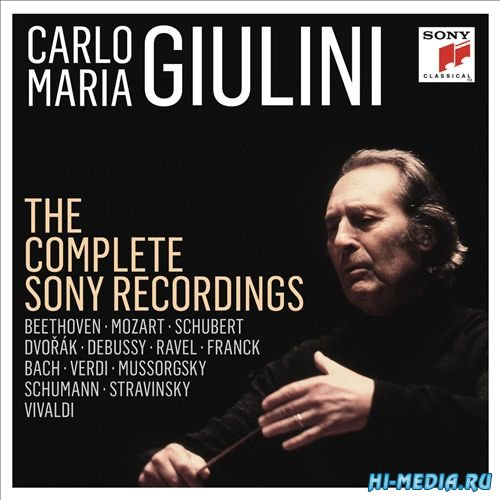 Carlo Maria Giulini: The Complete Sony Recordings (22CD) (2014)