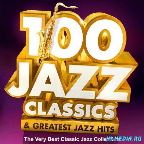 100 Jazz Classics & Greatest Jazz Hits (2015)