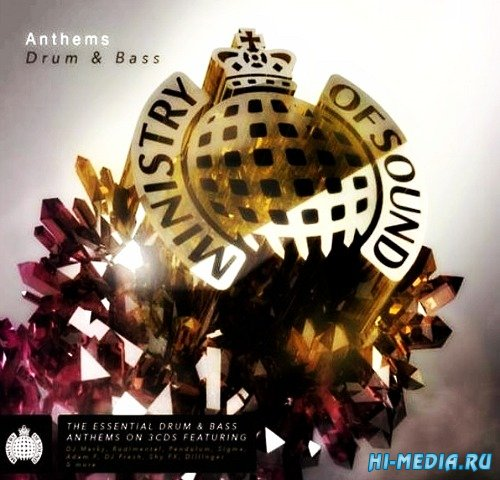 Ministry Of Sound: Anthems Drum And Bass (2015)