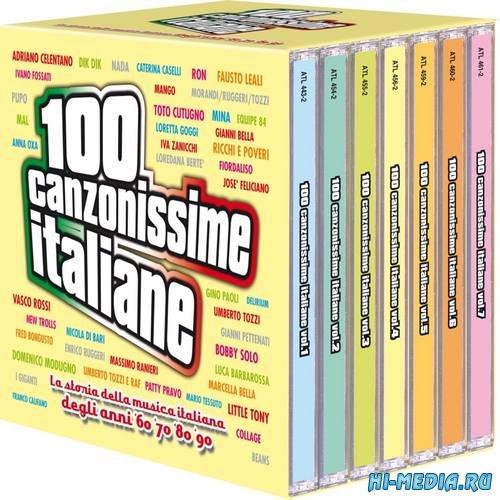 100 Canzonissime Italiane BoxSet 7CD (2015)
