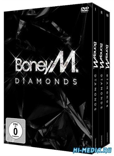 Boney M: Diamonds (40th Anniversary Box Set 3 DVD) (2015) DVDRip