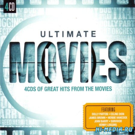 Ultimate... Movies. Great Hits From The Movies (4 CD) (2015)