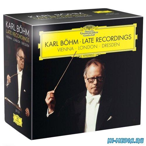 Karl Bohm: Late Recordings - Vienna - London - Dresden (23CD) (2015)