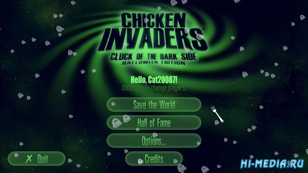 Chicken Invaders 5 Cluck of the Dark Side Halloween Edition (2015) ENG
