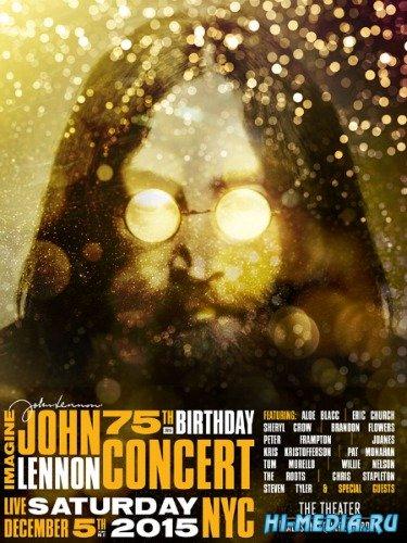 Imagine. John Lennon 75th Birthday Concert (2015) HDTV 1080i