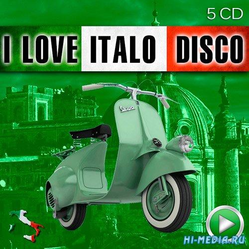 I Love Italo Disco (5 CD) (2015)