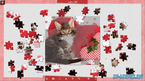 Праздничный пазл: День святого Валентина 3 (2016) RUS