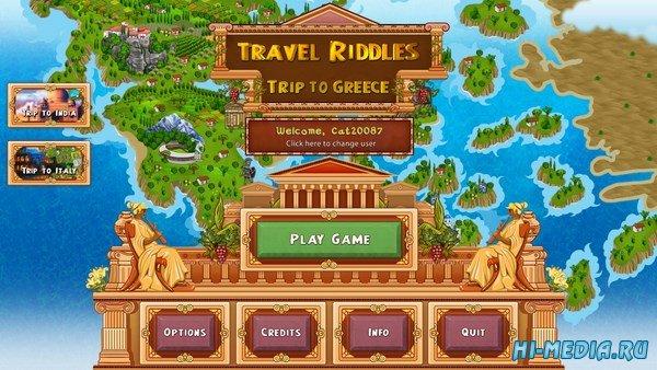 Загадки путешествий 3: Поездка в Грецию (2016) RUS