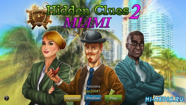 Hidden Clues 2: Miami (2016) ENG