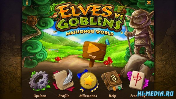 Elves VS Goblins: Mahjongg World (2016) ENG