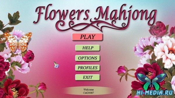 Flowers Mahjong (2016) ENG