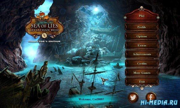 Море лжи 6: Риф Левиафана Коллекционное издание (2016) RUS