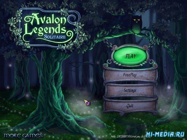 Avalon Legends Solitaire (2011) ENG