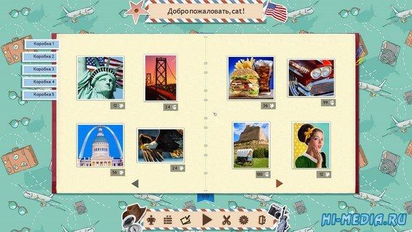 1001 Пазл вокруг света: Америка (2016) RUS