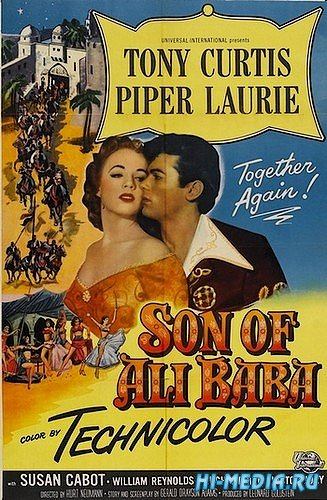 Сын Али-Бабы / Son of Ali Baba (1952) DVDRip