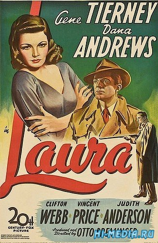 Лора / Laura (1944) DVDRip