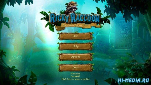 Ricky Raccoon: The Treasure Of The Amazon (2016) ENG