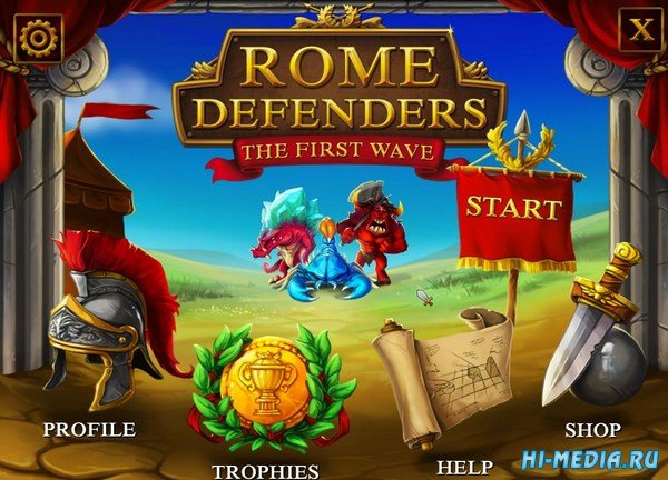 Rome Defenders: The First Wave (2016) ENG