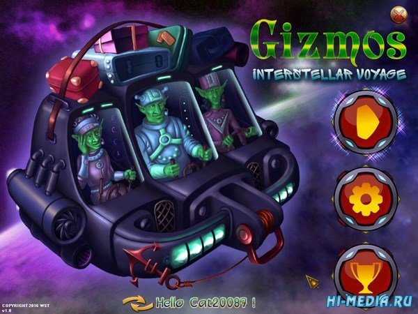 Gizmos Interstellar Voyage (2016) ENG