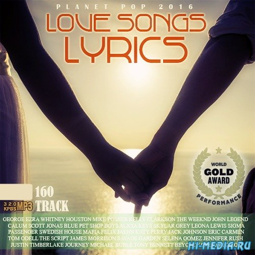 VA - 100 Planet Pop: Love Songs Lyric (2016)