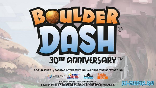 Boulder Dash - 30th Anniversary Deluxe Edition (2016) RUS