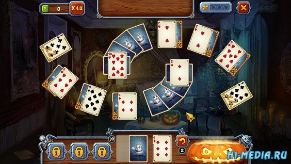 Spooky Solitaire Halloween (2016) ENG