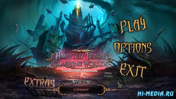 Haunted Train 3: Clashing Worlds Collectors Edition (2016) ENG