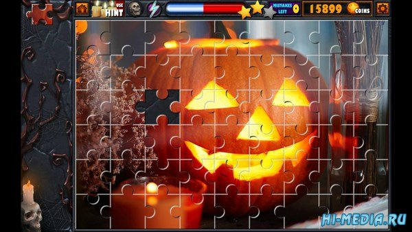 Halloween Jigsaw Puzzle Stash (2016) ENG