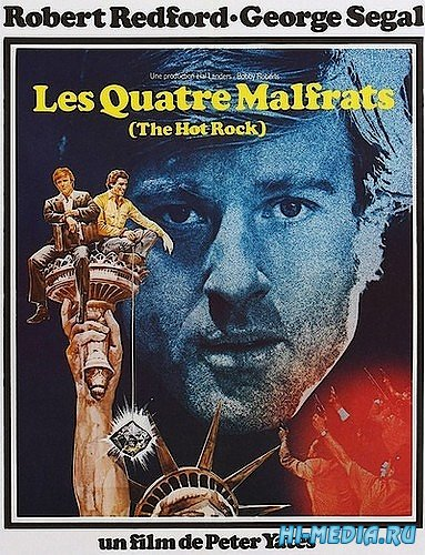 Краденый камень / The Hot Rock (1972) DVDRip