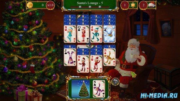Santas Christmas Solitaire (2016) ENG